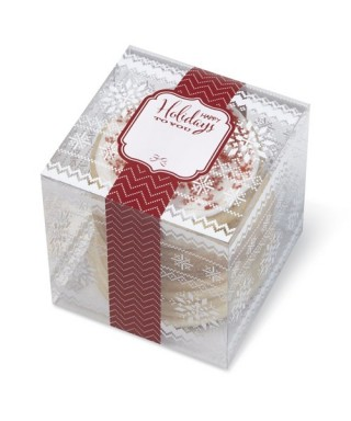 boîtes à biscuits de noël pk/3 Wilton