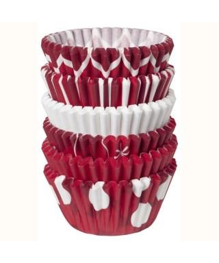 Mini caissettes à cupcakes de Noel pk/150 Wilton