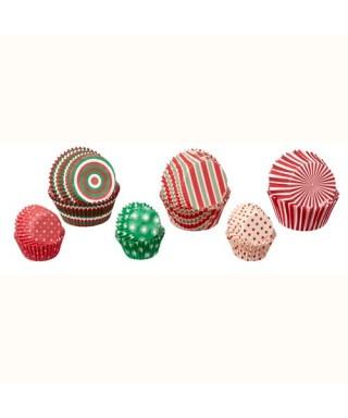 Mix caissettes à cupcakes Noël pk/150 Wilton