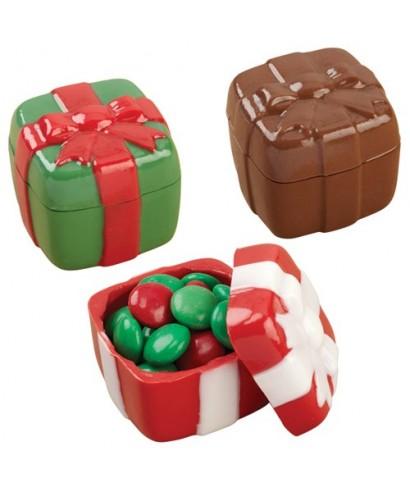 Moule à chocolat boite à cadeau Wilton