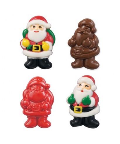 Moule Sucette chocolat Père Noël Wilton