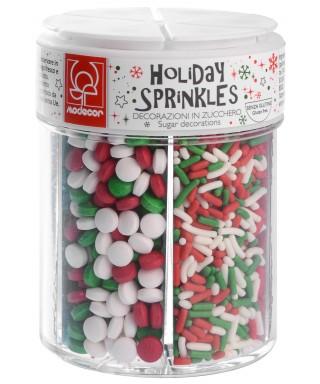 Boite de 6 Sprinkles Noël Modecor