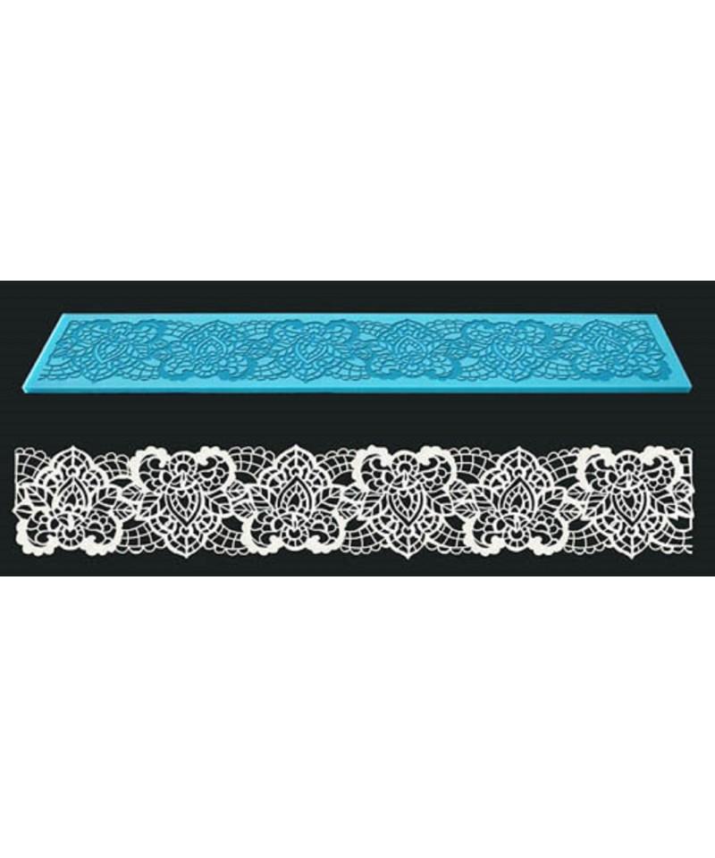 tapis dentelle art floral. Black Bedroom Furniture Sets. Home Design Ideas