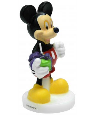 Bougie Mickey 9 cm Disney