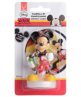 Bougie Mickey 9 cm Disney