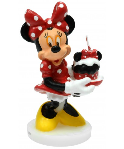 Bougie Minnie 9 cm Disney