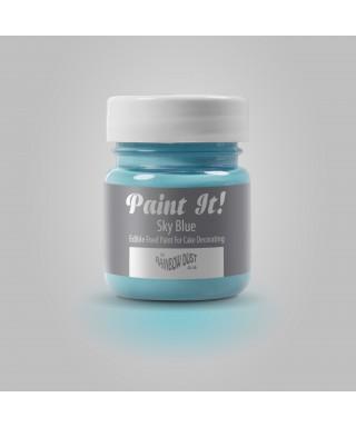 Peinture Bleu Ciel 25ml Rainbow Dust