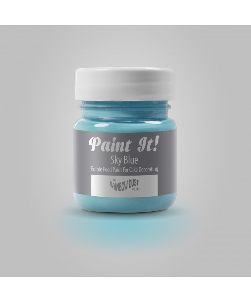 peinture bleu ciel 25ml rainbow dust. Black Bedroom Furniture Sets. Home Design Ideas