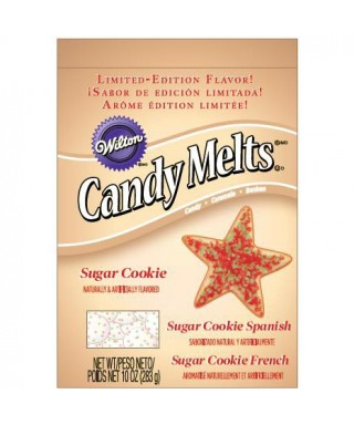 Candy Melts Sugar Cookie 283g Wilton