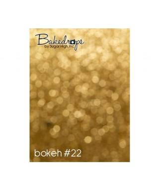 Fond pour Photo de Gâteau Bokeh design 22