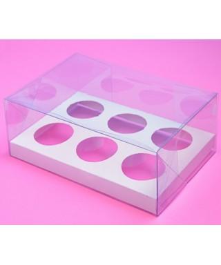 Boîte pour Six Cupcake Transparente