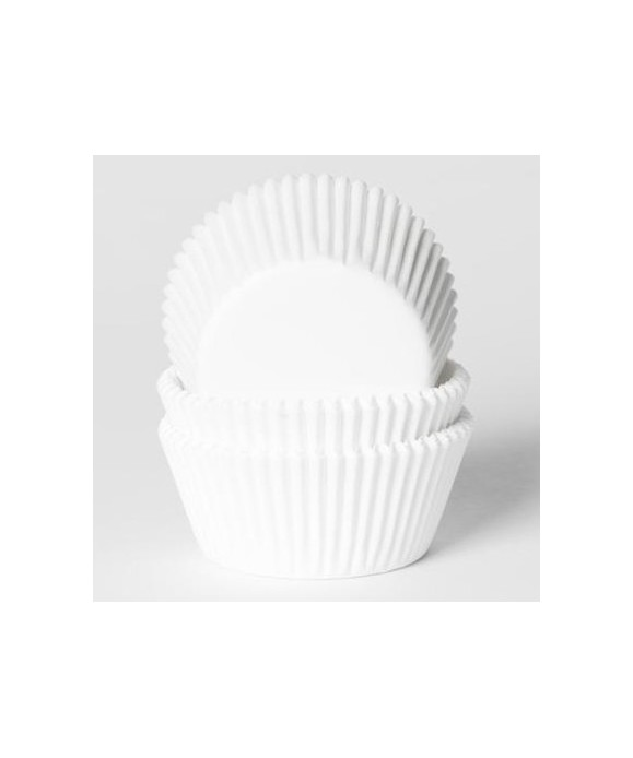Caissette Cupcake Blanche x 500