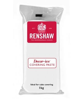 Pâte à sucre Blanche Spécial Covering Paste Vanille 1 kg Renshaw