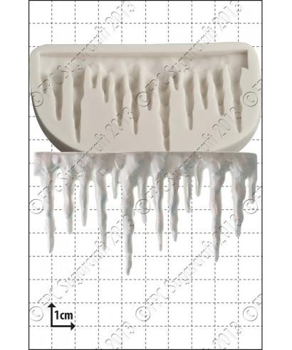 Moule Silicone  stalactite de glace FPC Sugarcraft