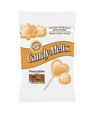 Candy Melts Beurre de cacahuète 340 g Wilton
