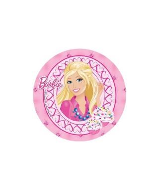 Disque azyme Barbie et ses cupcakes