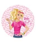 Disque Pâte à sucre Barbie en ballade