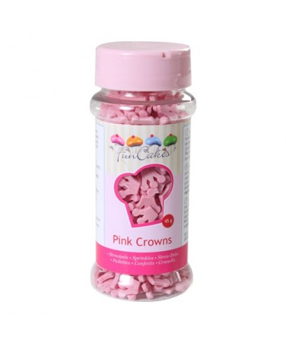 Petites Couronnes Rose 45g FunCakes