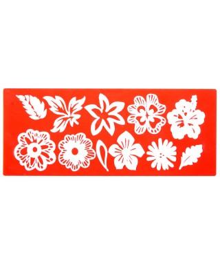 Tapis dentelle Mix de Fleurs Sweet lace
