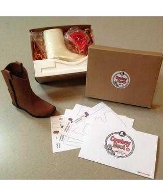 Kit Botte de Cowboy CakeStructure