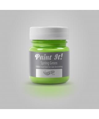 Peinture Vert Printemps 25ml Rainbow Dust