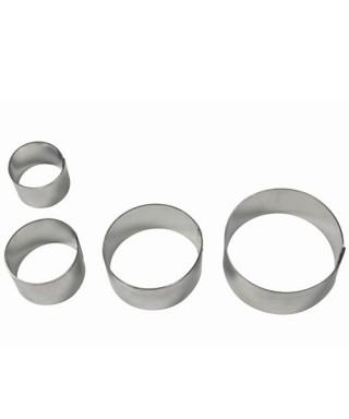 Emporte-pièce métal Briar Rose set/4 PME art & craft