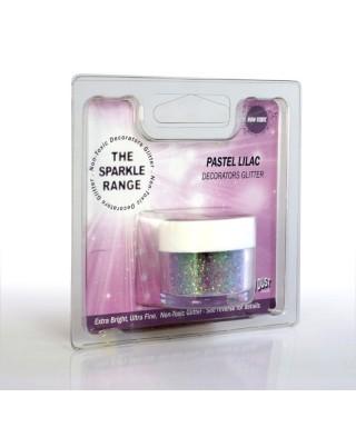 Paillette Pastel Lila Rainbow dust