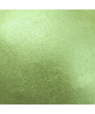 Soie alimentaire Vert pin nacré Rainbow Dust