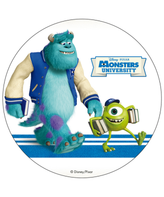 Disque Azyme Monstres Academy Bob et Jacques Disney