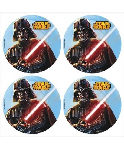 Mini Disque Azyme à cupcakes Star Wars Disney