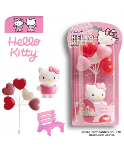 Kit Hello Kitty et son décor