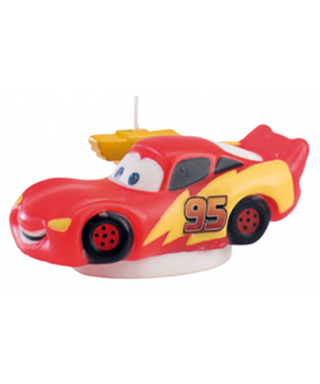 Bougie flash mcqueen Cars Disney Pixar