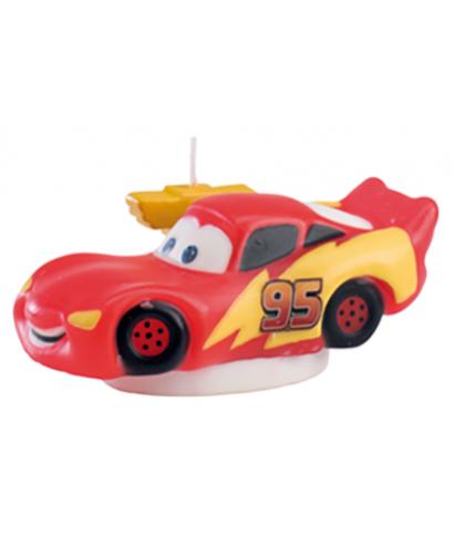 bougie flash mcqueen cars disney pixar. Black Bedroom Furniture Sets. Home Design Ideas