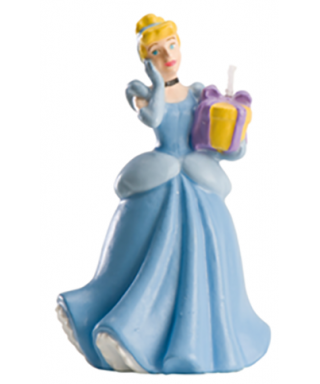 Bougie 3D Cendrillon Disney Princesse