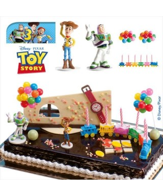 Kit Figurine Woody et Buzz Toy Story Disney