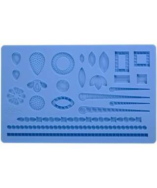 Moule silicone à modelage bijoux Wilton