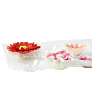 Support séchoir et forme pour fleur en pâte à sucre x 2 Modecor