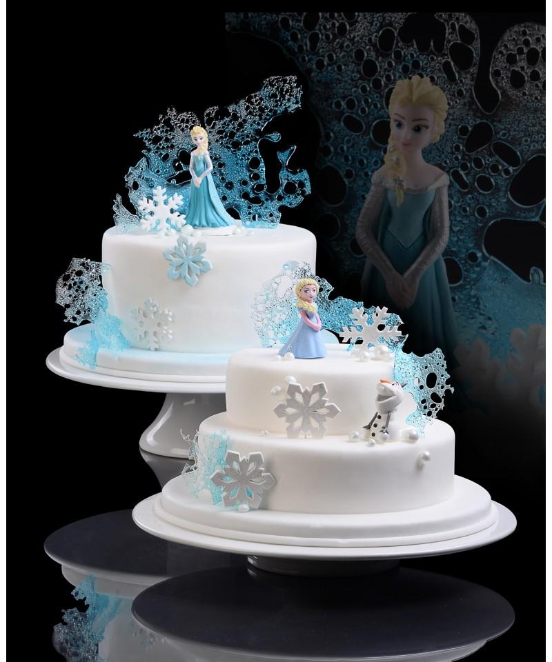 figurine 3d en sucre la reine des neiges disney