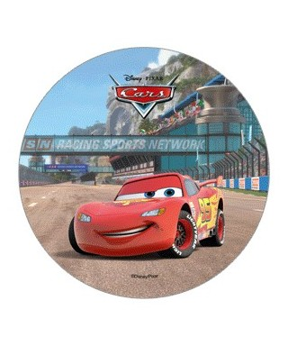 Disque Azyme Cars Flash McQueen Disney