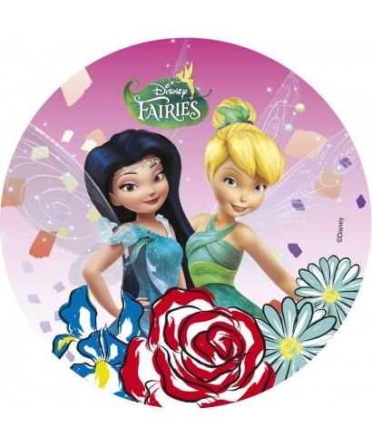 Disque Azyme Fée Clochette et Ondine Disney