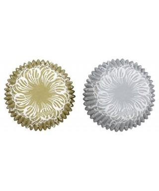Mini Caissettes à cupcakes Sparkle & Cheer pk/100 Wilton