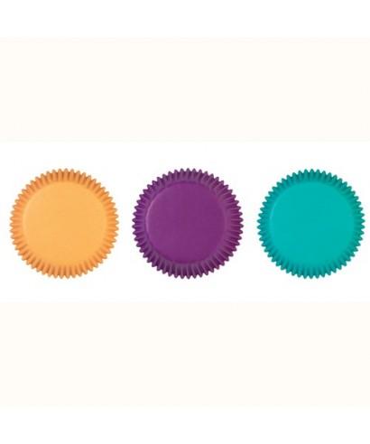 Caissettes à cupcakes Couleurs assorties Bijou pk/75 Wilton