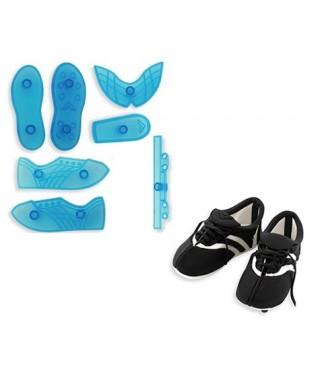 Chaussure de foot à crampon 3D set/7 JEM