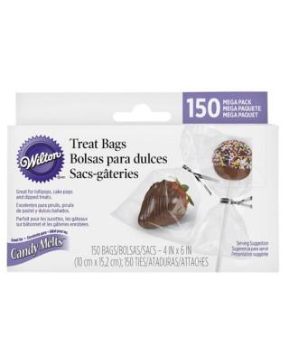 Emballage de sucettes, cake pops pk/150 Wilton