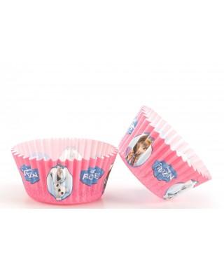 Caissettes Cupcake La Reines des Neiges