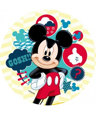 Disque Azyme Mickey Gosh Disney