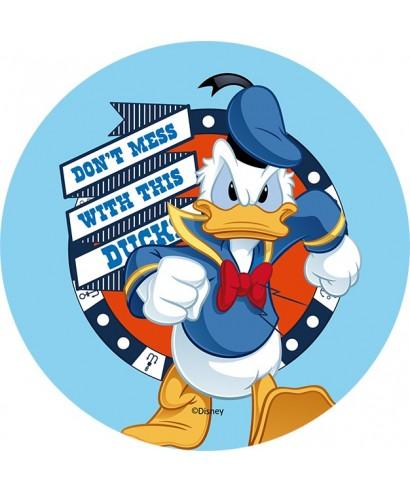 Disque Azyme Donald sur de lui Disney