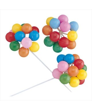 Kit lot de ballon multicolore set/3
