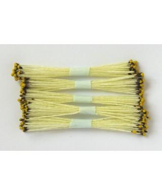 Étamines jaune à pointe marron et jaune set/250