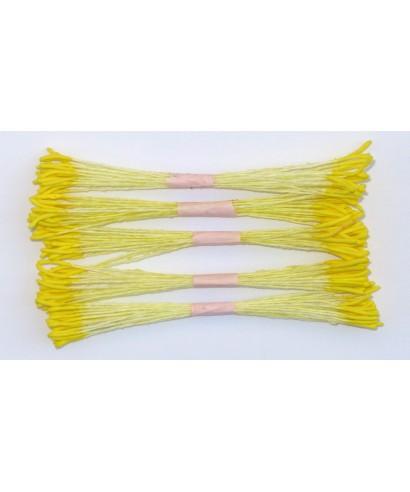 Étamines jaune longue set/250